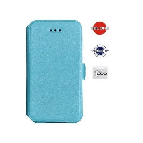 """Mėlynas atverčiamas dėklas LG G4 telefonui """"Telone Book Pocket"""""""