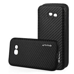"Juodas CARBON dėklas Samsung Galaxy A5 2017 telefonui ""Qult Carbon"""