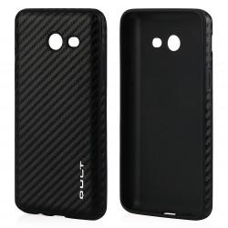 """Juodas silikoninis dėklas Huawei Y6 II (2016) telefonui """"Glossy"""""""
