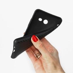 """Auksinės spalvos silikoninis dėklas Huawei Y6 II (2016) telefonui """"Glossy"""""""