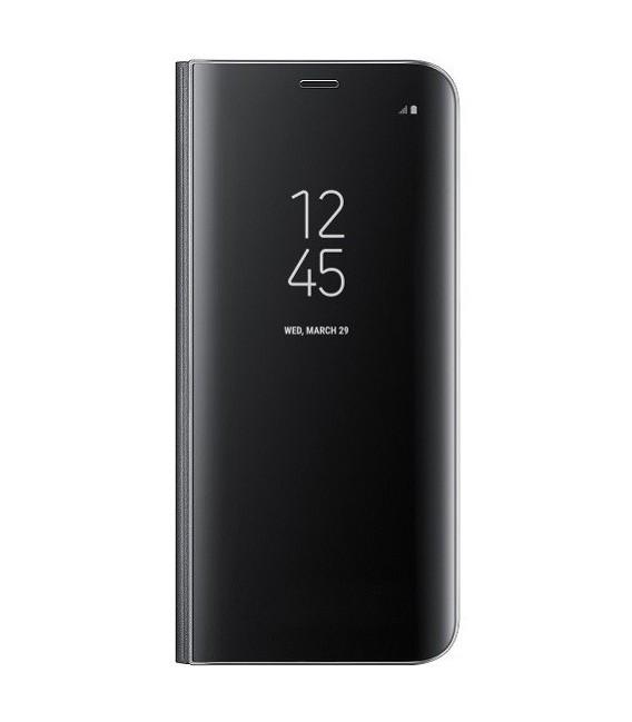 """Originalus juodas dėklas """"Clear View Standing Cover"""" Samsung Galaxy S8+ telefonui ef-zg955cbe"""