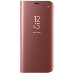 """Originalus rožinis dėklas """"Clear View Standing Cover"""" Samsung Galaxy S8 Plus telefonui ef-zg955cpe"""
