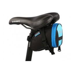 """Universalus mėlynas dviračio dėklas - krepšys segamas prie sėdynės """"Roswheel"""""""
