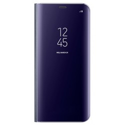 "Originalus violetinis dėklas ""Clear View Standing Cover"" Samsung Galaxy S8+ telefonui ef-zg955cve"