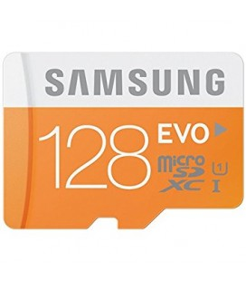 Atminties kortelė MicroSD Samsung EVO 128GB su adapteriu SDXC Class 10 mb-mp128da/eu