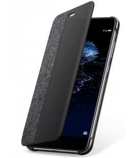 """Originalus pilkas atverčimas dėklas Huawei P10 Lite telefonui """"View Cover"""""""