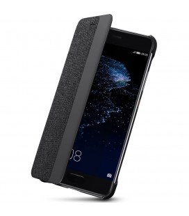 """Originalus pilkas atverčimas dėklas Huawei P10 Plus telefonui """"View Cover"""""""