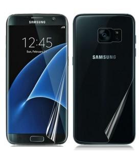 Apsauginė ekrano ir nugarėlės plėvelės Samsung Galaxy S7 Edge telefonui (Visam ekranui ir nugarėlei)