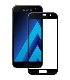 """Juodas apsauginis grūdintas stiklas Samsung Galaxy A5 2017 telefonui """"Mocolo"""""""