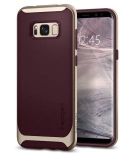 """Raudonas dėklas Samsung Galaxy S8 telefonui """"Spigen Neo Hybrid"""""""