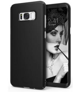 """Juodas dėklas Samsung Galaxy S8 telefonui """"Ringke Slim"""""""