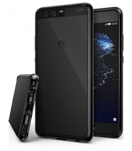 """Juodas dėklas Huawei P10 telefonui """"Ringke Fusion"""""""