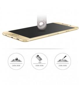 """Raudonas silikoninis dėklas Samsung Galaxy S7 telefonui """"Liquid Heart"""""""