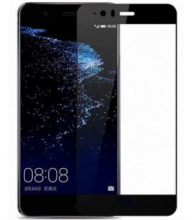"""Juodas apsauginis grūdintas stiklas Huawei P10 Lite telefonui """"Mocolo"""""""