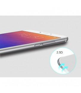 Auksinės spalvos metalinis rėmelis su skaidriu dangteliu Sony Xperia Z5 Compact telefonui