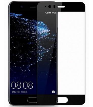 """Juodas apsauginis grūdintas stiklas Huawei P10 telefonui """"Mocolo"""""""