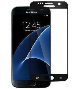 """Juodas 3D apsauginis grūdintas stiklas Samsung Galaxy S7 telefonui """"Mocolo"""""""