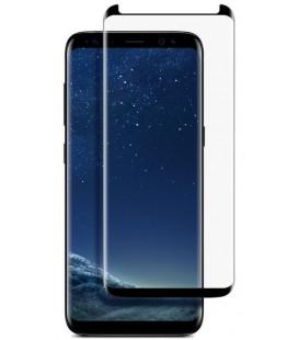 """Juodas 3D apsauginis grūdintas stiklas Samsung Galaxy S8 telefonui """"Mocolo"""""""
