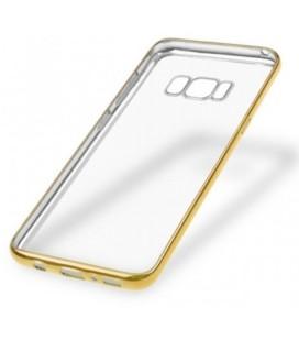 """Auksinės spalvos silikoninis dėklas Samsung Galaxy S8 Plus telefonui """"Glossy"""""""