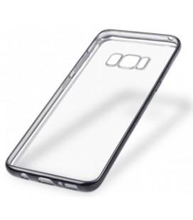 """Juodas silikoninis dėklas Samsung Galaxy S8 Plus telefonui """"Glossy"""""""