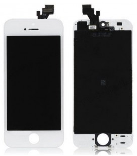 Apple iPhone 5 LCD ekranas (baltas) OEM