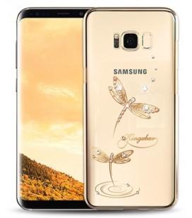 """Auksinės spalvos dėklas Samsung Galaxy S7 Edge telefonui """"Spigen Neo Hybrid"""""""