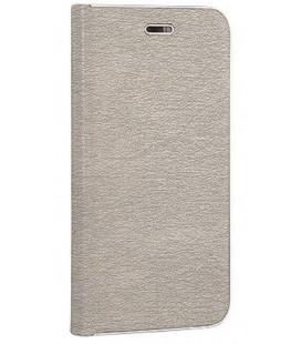 """pilkas atverčiamas dėklas su rėmeliu Huawei P8/P9 Lite 2017 telefonui """"Book Vennus Z"""""""