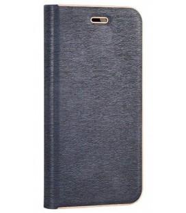 """Mėlynas atverčiamas dėklas su rėmeliu Huawei P8/P9 Lite 2017 telefonui """"Book Vennus Z"""""""
