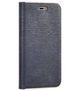 """Mėlynas atverčiamas dėklas su rėmeliu Samsung Galaxy S8 Plus telefonui """"Book Vennus Z"""""""