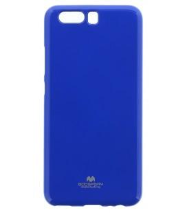 """Mėlynas silikoninis dėklas Huawei P10 telefonui """"Mercury Goospery Pearl Jelly Case"""""""