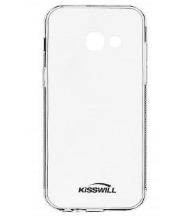 "Skaidrus silikoninis dėklas Samsung Galaxy A3 2017 A320 telefonui ""Kisswill"""