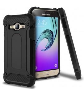 """Juodas dėklas Samsung Galaxy J3 2016 telefonui """"Tech-Protect Future Armor"""""""