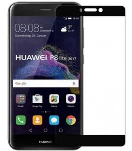 """Juodas apsauginis grūdintas stiklas Huawei P8/P9 Lite 2017 telefonui """"Mocolo"""""""