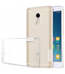 """Skaidrus silikoninis dėklas Xiaomi Redmi Note 4 telefonui """"Nillkin Nature"""""""