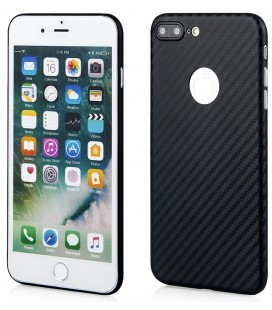 "Juodas dėklas Apple iPhone 7 Plus / 8 Plus telefonui ""Carbon PC"""