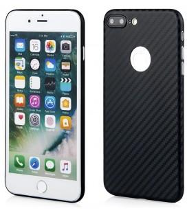 """Juodas dėklas Apple iPhone 7 Plus telefonui """"Carbon PC"""""""