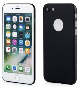 """Juodas dėklas Apple iPhone 7 telefonui """"Carbon PC"""""""