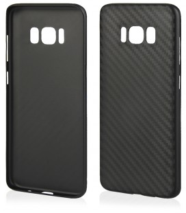 "Juodas dėklas Samsung Galaxy S8 Plus telefonui ""Carbon PC"""