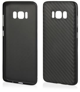 """Juodas dėklas Samsung Galaxy S8 telefonui """"Carbon PC"""""""