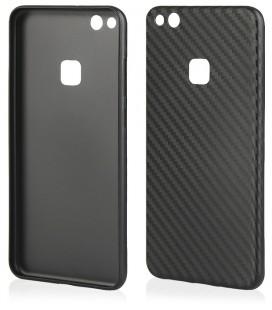 """Juodas dėklas Huawei P8/P9 Lite 2017 telefonui """"Carbon PC"""""""