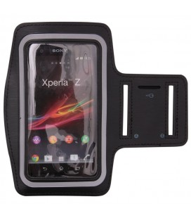 """Universalus dėklas ant rankos telefonams iki 5.5"""" - Juodas"""