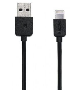 "Juodas iPhone Lightning laidas 1m ""Remax RC-06i"""