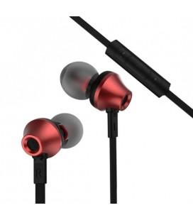 """Raudonos stereo ausinės """"Remax RM-610D"""""""