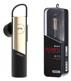 """Auksinės spalvos Bluetooth Business laisvų rankų įranga """"Remax RB-T15"""""""