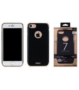 "Juodas dėklas Apple iPhone 7 telefonui ""Remax Beck Creative Case"""