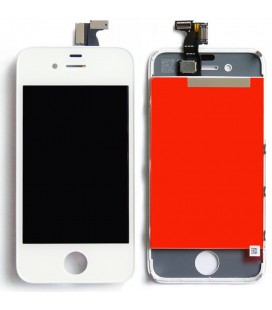 Apple iPhone 4 LCD ekranas (baltas) HQ