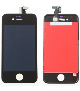 Apple iPhone 4 LCD ekranas (juodas) HQ