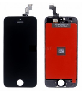 Apple iPhone 5c LCD ekranas (juodas) HQ