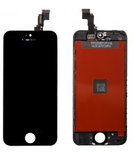 Apple iPhone 5s LCD ekranas (juodas) HQ