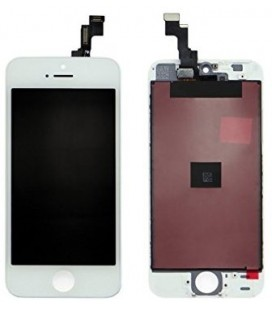 Apple iPhone 5s LCD ekranas (baltas) HQ